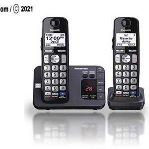 تصویری از تلفن بیسیم پاناسونیک مدل KX-TGE262